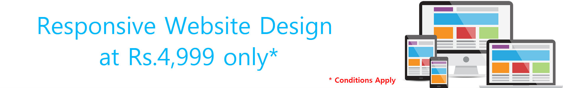 Web Designing Offers - Website Design in Bangalore at 4999 only