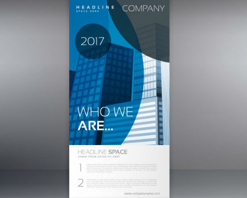 Standee Design for Real Estate Company