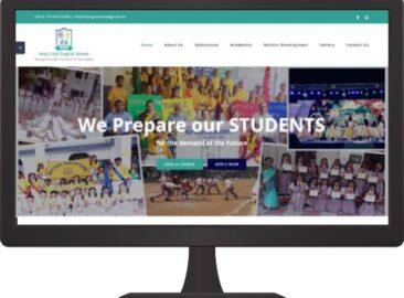 School Website Design Company in Bangalore